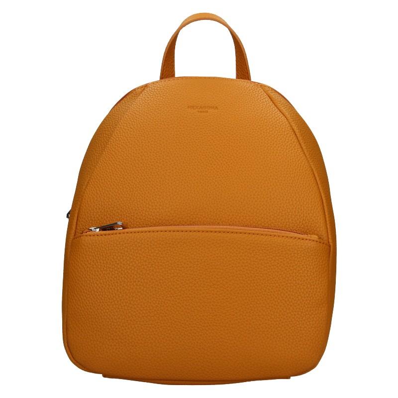 Levně Dámský batoh Hexagona Mona - oranžovo-hnědá