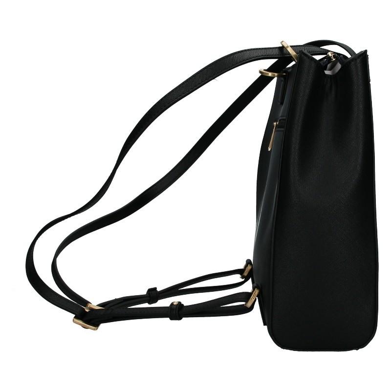 Dámská batůžko-kabelka Hexagona Karol - černá