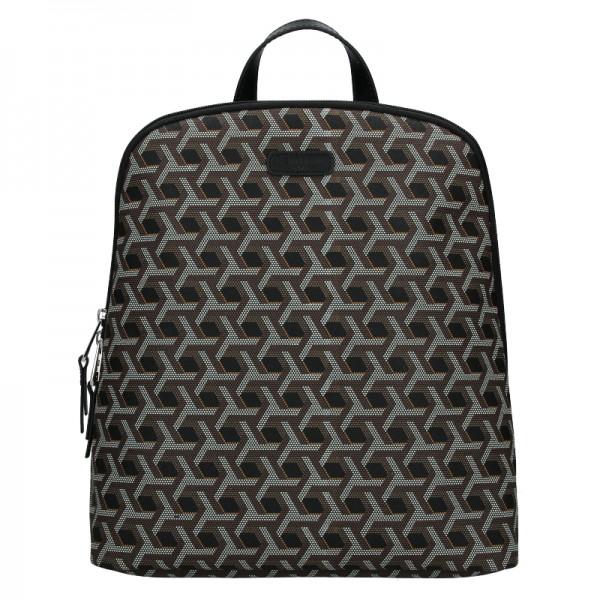Trendy dámský batoh Hexagona Asia - černá