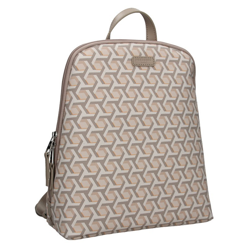 Trendy dámský batoh Hexagona Asia - nude