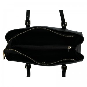 Dámská kožená kabelka Marina Galanti Chiara - černá