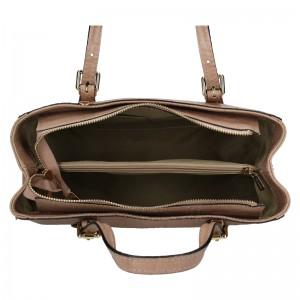 Dámská kožená kabelka Marina Galanti Federica - béžová
