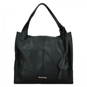 Dámská kožená kabelka Marina Galanti Apolene - černá