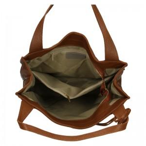 Dámská kožená kabelka Marina Galanti Apolene - hnědá