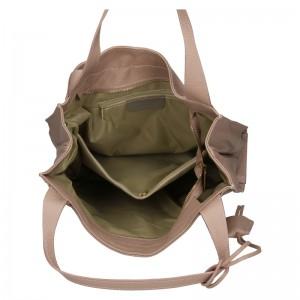 Dámská kožená kabelka Marina Galanti Apolene - béžová