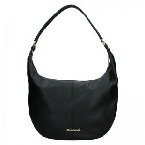 Dámská kožená kabelka Marina Galanti Simonia - černá