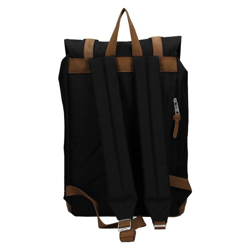 Pánský trendy batoh Enrico Benetti Dermol - černá