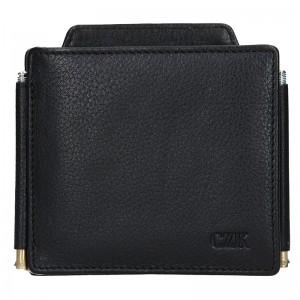 Pánská kožená peněženka Lagen Petr - černá