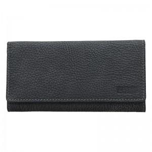 Dámská kožená peněženka Lagen Lussy - černá