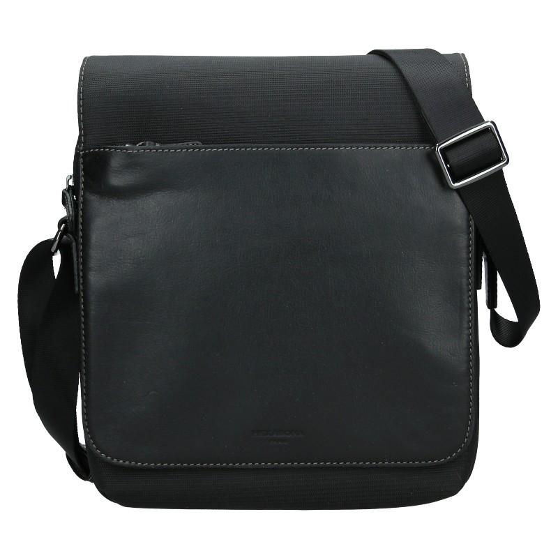 Pánská taška přes rameno Hexagona Denn - černá