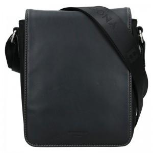 Pánská taška přes rameno Hexagona Pillus - černá