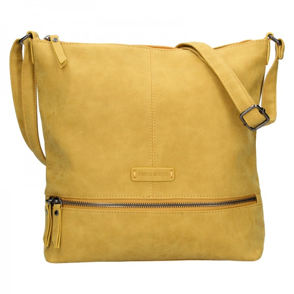 Dámská kabelka Enrico Benetti Muaric - žlutá
