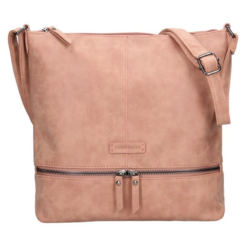 Dámská kabelka Enrico Benetti Muaric - růžová