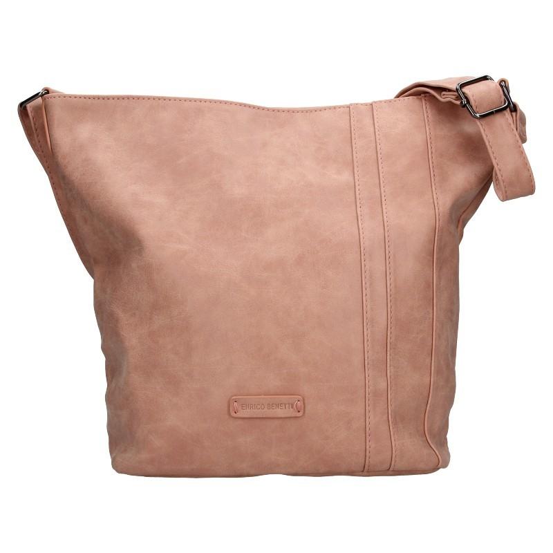 Dámská crossbody kabelka Enrico Benetti Kammy - růžová