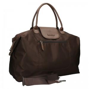 Dámská cestovní taška Enrico Benetti Matelde - hnědá