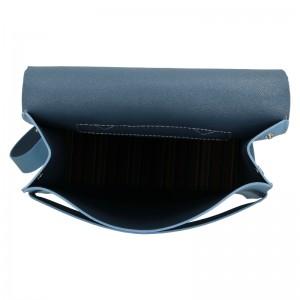 Dámský kožený batoh Facebag Apolens - světle modrá