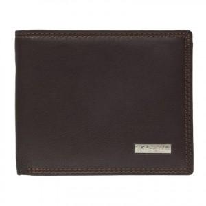 Pánská kožená peněženka Lagen Norbert - hnědá