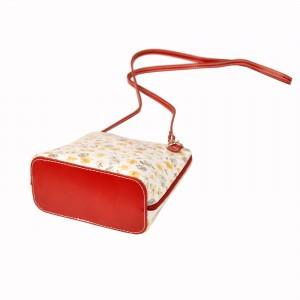 Dámská crossbody kabelka Pierre Cardin Emily - červená