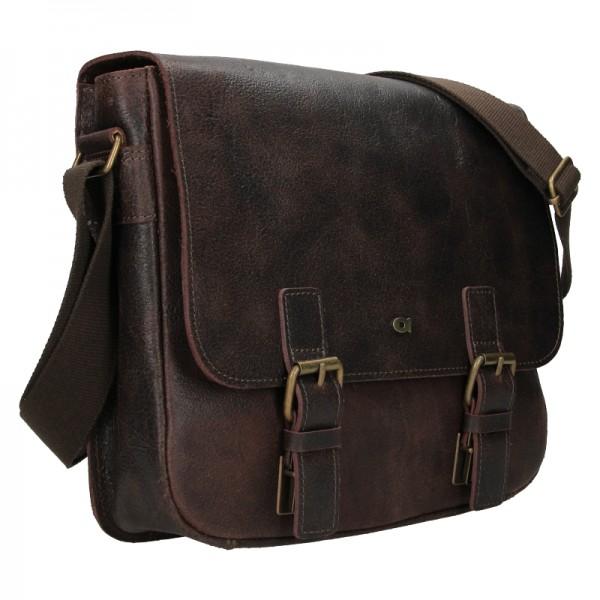 Pánská taška Daag JAZZY WANTED 32 - tmavě hnědá