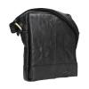 Pánská kožená taška přes rameno SendiDesign Eduardo - černá