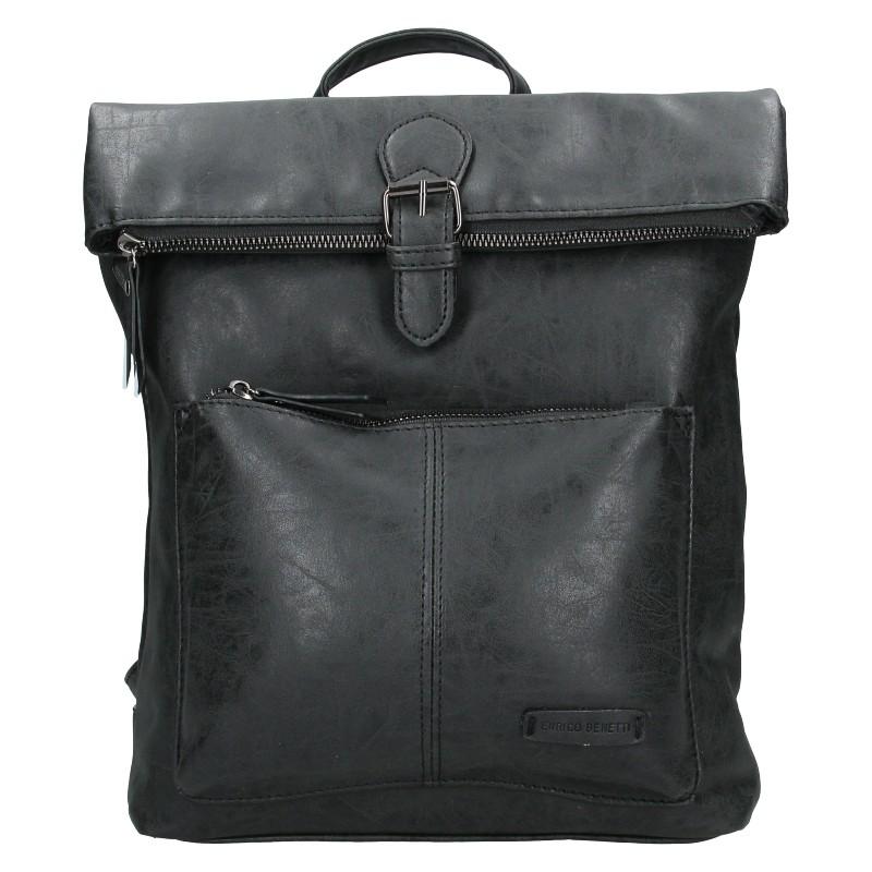 Levně Moderní dámský batoh Enrico Benetti Nicolls - černá