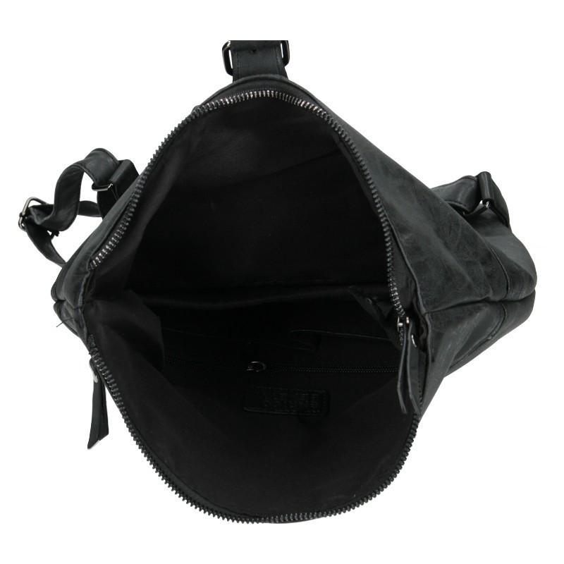 Moderní dámský batoh Enrico Benetti Nicolls - černá