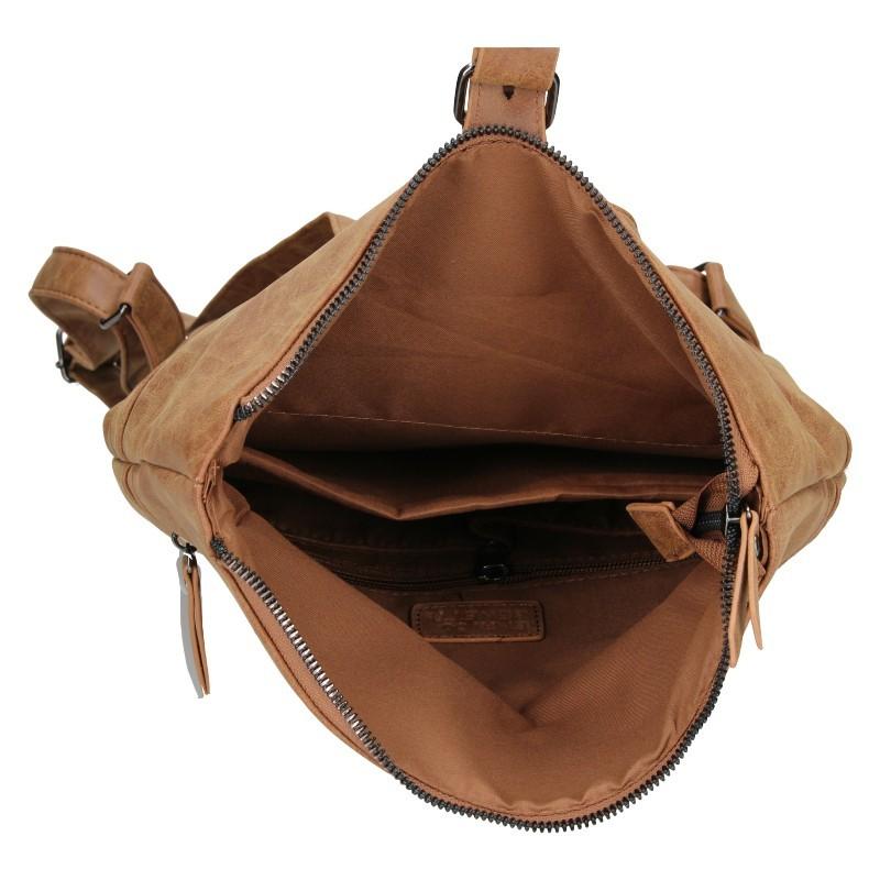 Moderní dámský batoh Enrico Benetti Nicolls - hnědá