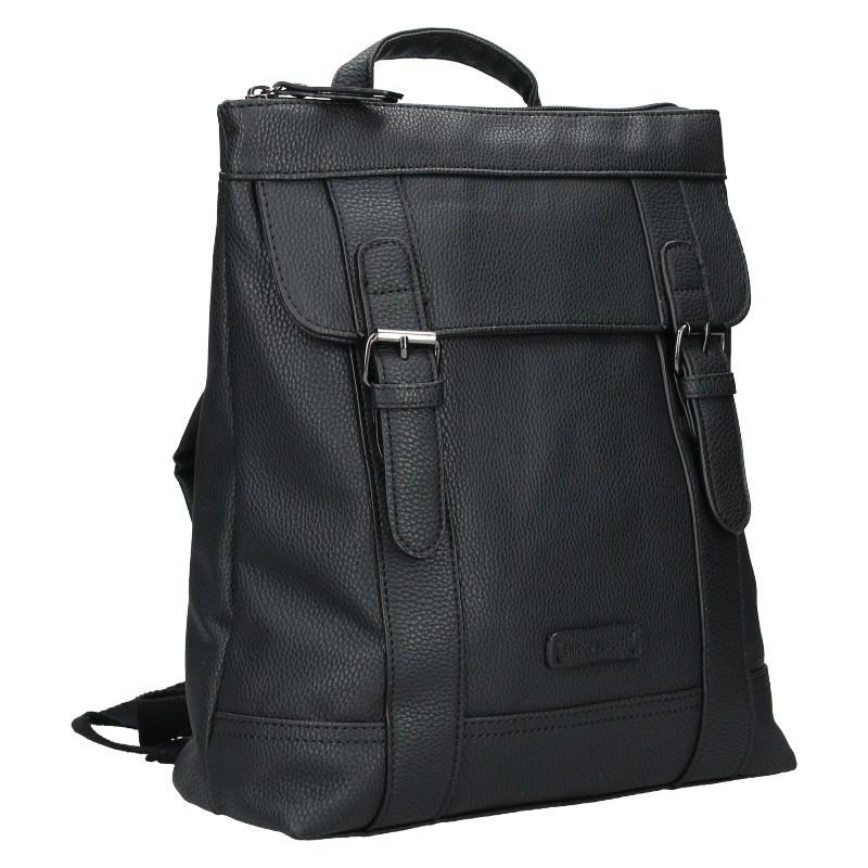 Moderní dámský batoh Enrico Benetti Martinas - černá