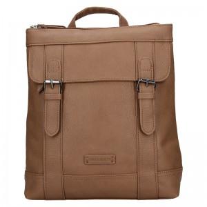 Moderní dámský batoh Enrico Benetti Martinas - hnědá