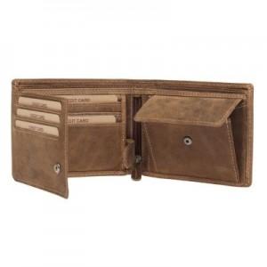 Pánská kožená peněženka Lagen Thor - hnědá
