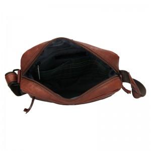 Pánská kožená taška Daag Paul - hnědá