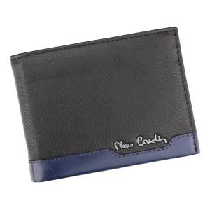 Pánská kožená peněženka Pierre Cardin Peter - černo-červená