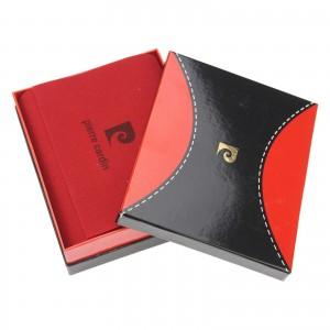 Pánská kožená peněženka Pierre Cardin Jack - černo-modrá