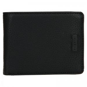 Pánská kožená peněženka Bugatti Alben - černá