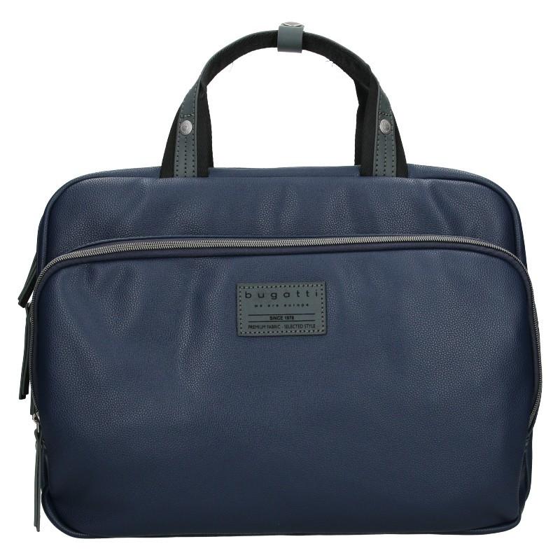 Pánská taška přes rameno Bugatti Moto DM - modrá