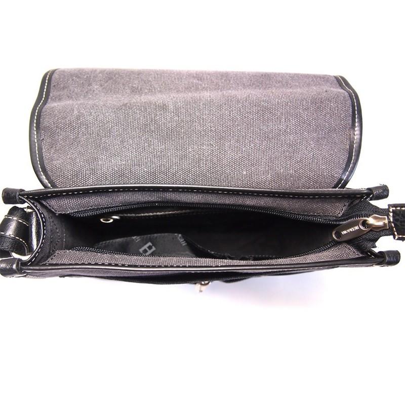 Pánská taška přes rameno Hexagona 409110 - černá