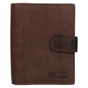Dámská kožená peněženka Lagen Bronia - hnědá