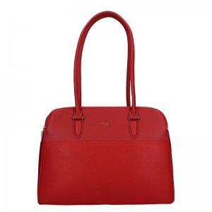 Dámská kabelka David Jones Karena - červená