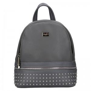 Módní dámský batoh David Jones Felion - šedá