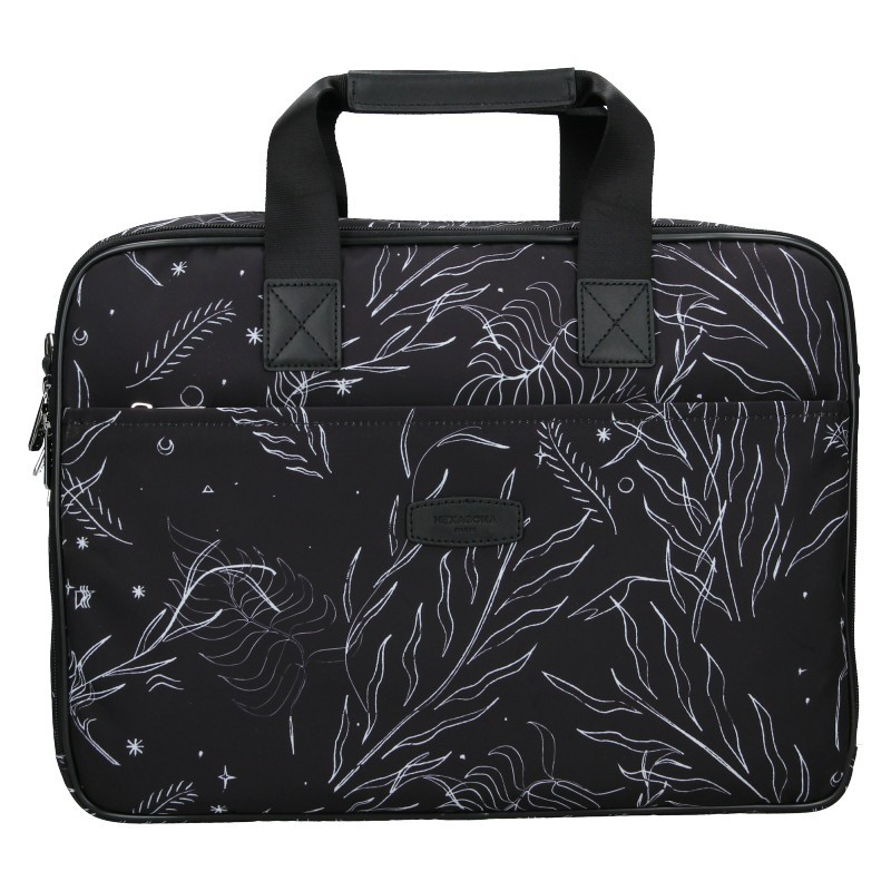 Dámská taška na notebook Hexagona Kerry - černá
