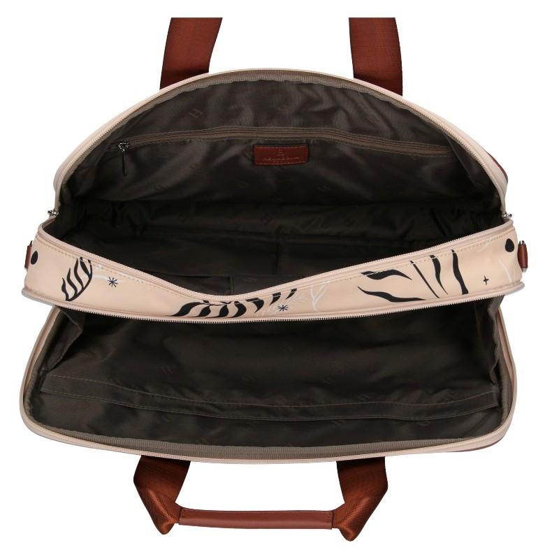 Dámská taška na notebook Hexagona Kerry - růžová