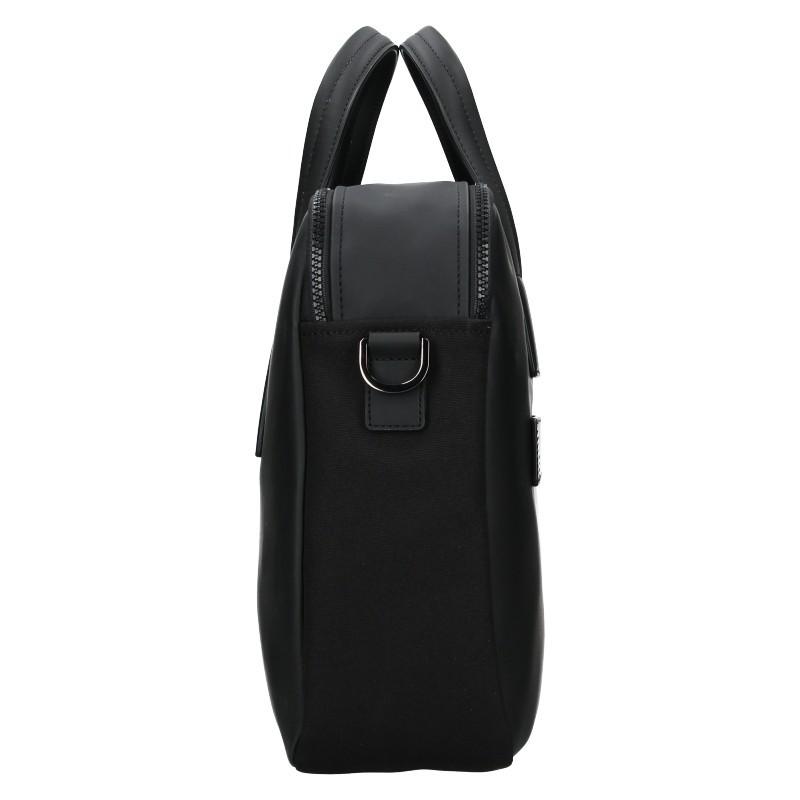Pánská business taška přes rameno Hexagona Asphalte - černá