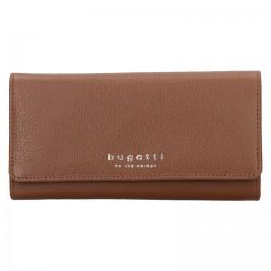 Dámská kožená peněženka Bugatti Enke - hnědá