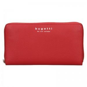Dámská kožená peněženka Bugatti Ruth - červená