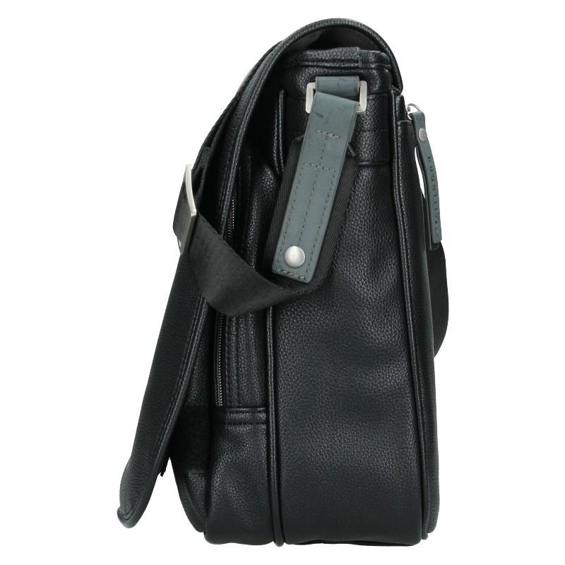 Pánská taška přes rameno Bugatti Moto DM - černá