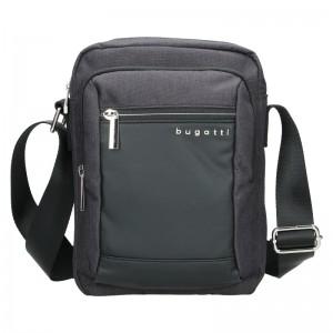 Pánská taška přes rameno Bugatti Klenc - černá