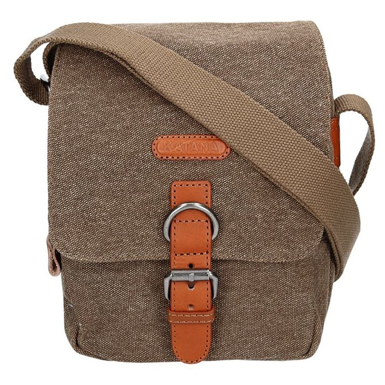 Levně Pánská taška Katana Olson - hnědá