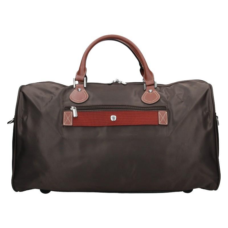 Unisex cestovní taška Hexagona Week - hnědá