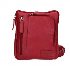 Dámská crosbody kabelka Lagen Marion - červená