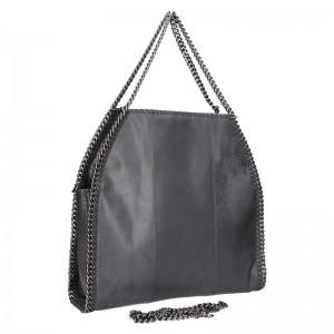 Extravagantní kožená kabelka Pierre Cardin Silva - černá